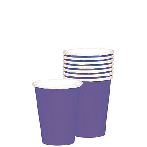 New Purple 9 oz. Cups | 20ct