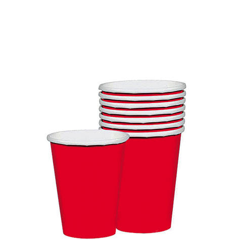 Apple Red 9 oz. Cups | 20ct