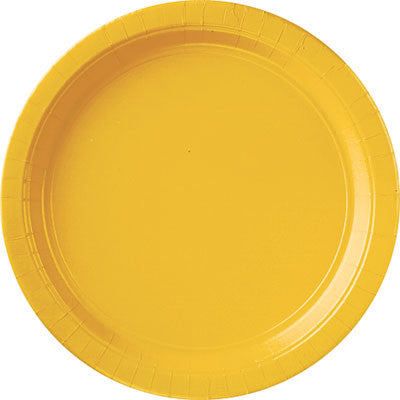 "Yellow Sunshine 10.5"" Paper Plates 