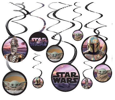 The Mandalorian: The Child Swirl Decorations | 12pcs