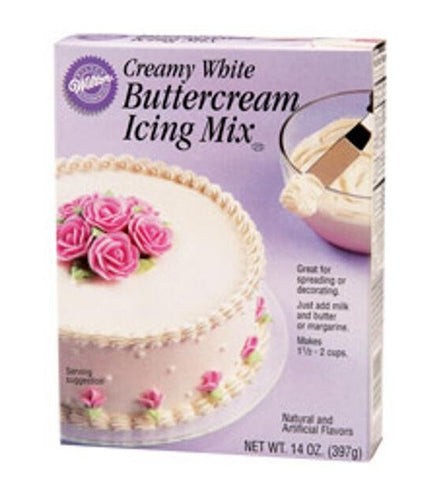 Creamy White Buttercream Icing Mix | 14 Oz.