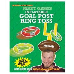 Inflatable Goal Post Ring Toss | 1 ct