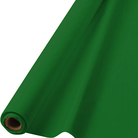 Festive Green 100' Table Roll | 1ct