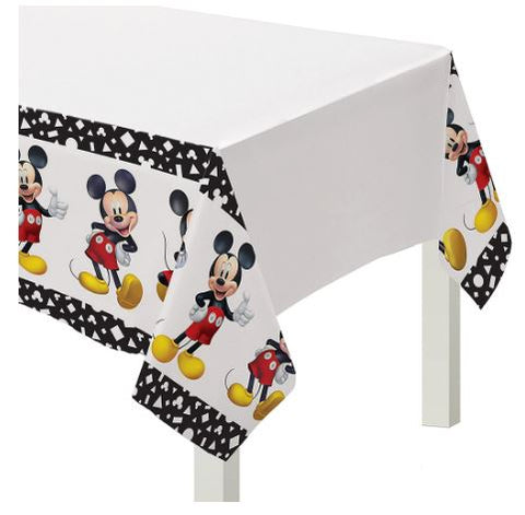 Mickey Mouse Plastic Table Cover  | 1ct