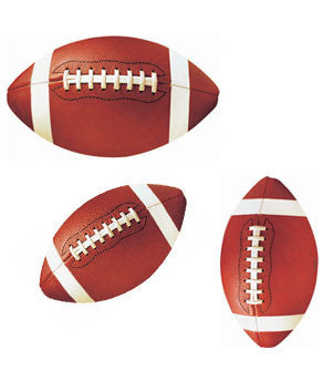 Football Cutouts | 12 ct