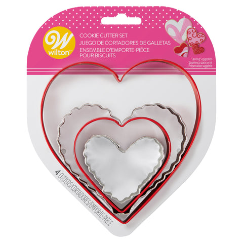 Wilton Cookie Cutter Set | 4ct