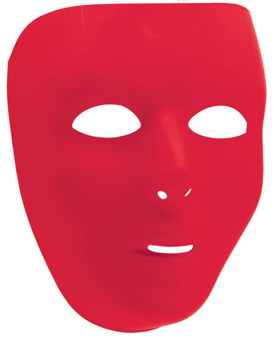 Red Full Face Mask | 1ct.