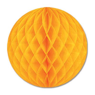 Golden Yellow Tissue Ball | 12''