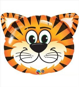 Tickled Tiger Shape Balloon, 32'' | 1 ct