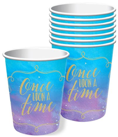 Disney Princess Once Upon a Time Paper Cups | 8ct