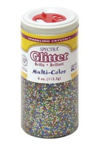 Multicolored Glitter, 4 oz. | 1 ct