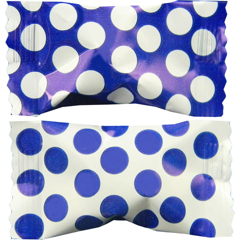 Royal Blue Big Dots Buttermint Creams | 50ct
