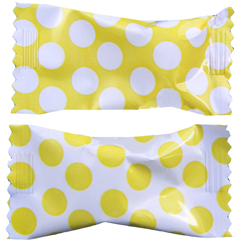 Yellow Big Dots Buttermint Creams | 50ct