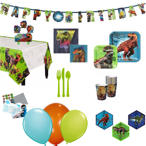 Jurassic World Party Pack Basic 16 guests