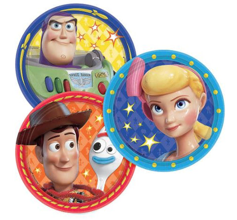 Toy Story Birthday Party Dessert Plates 7"