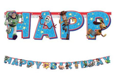 Toy Story Birthday Party Jumbo Letter Banner Kit | 1ct
