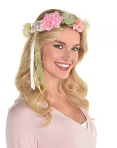 Floral Baby Girl Head Garland | 1ct