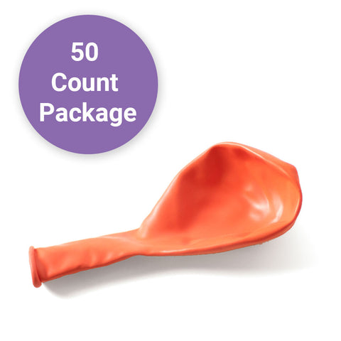 "Coral, Qualatex 11"" Latex Balloons 