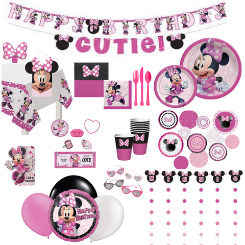 Minnie Mouse Party Pack Deluxe | 16 guests