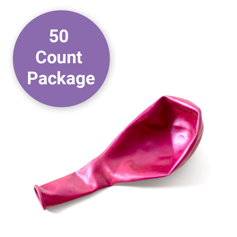 "Pearl Magenta, Qualatex 11"" Latex Balloon 