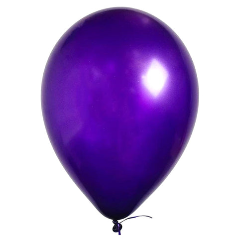 Purple Violet,  11'' Latex Balloon | 1 ct With Helium and Hi-Float