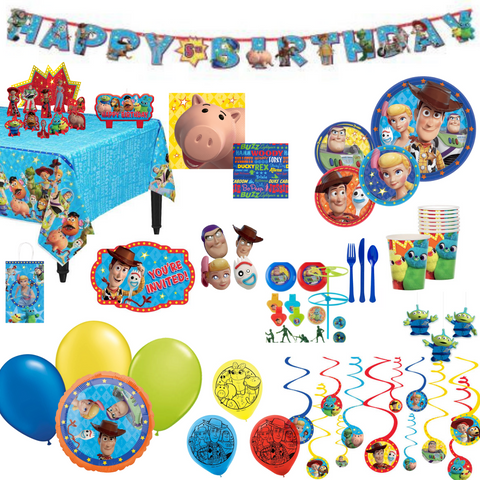 Toy Story Party Pack Deluxe | 8 guests