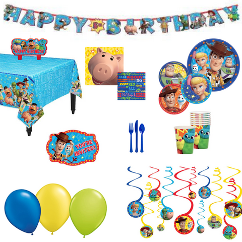 Toy Story Party Pack Basic | 8 guests