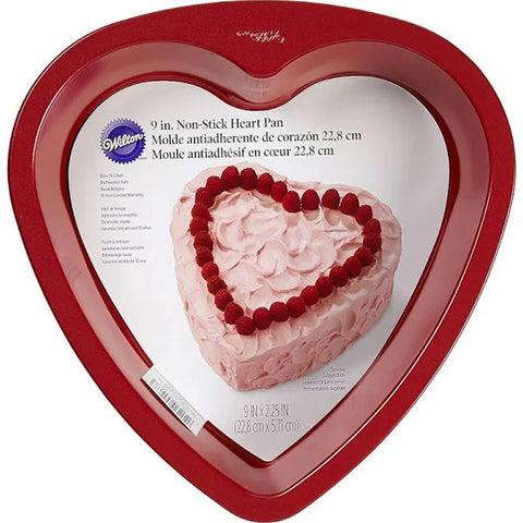Novelty Cake Pan, Red Heart | 1ct