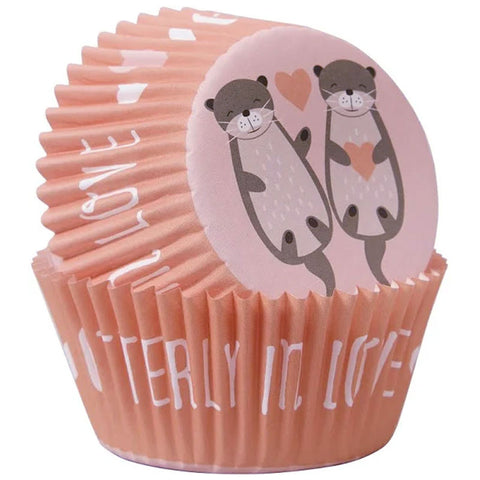 Otterly in Love Standard Baking Cups Wilton | 75ct