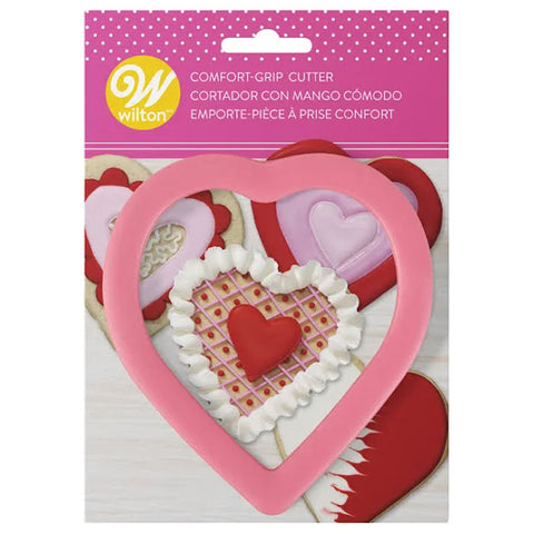 Wilton Comfort Grip Cookie Cutter Heart 4""