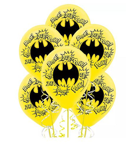 Batman Balloon Kit 12"