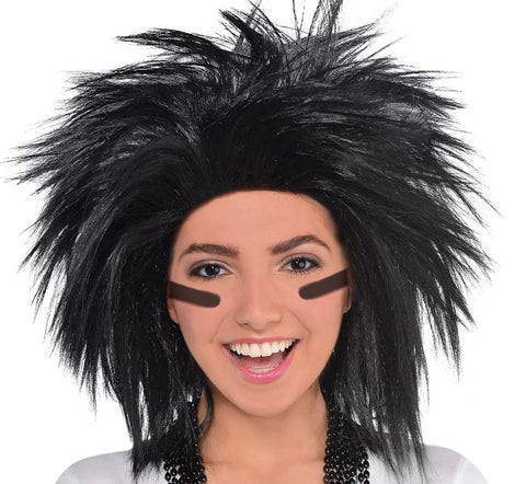 Black Crazy Wig | 1ct