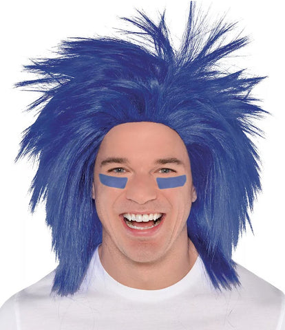 Blue Crazy Wig | 1ct