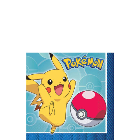 Pokemon Beverage Napkins | 16ct