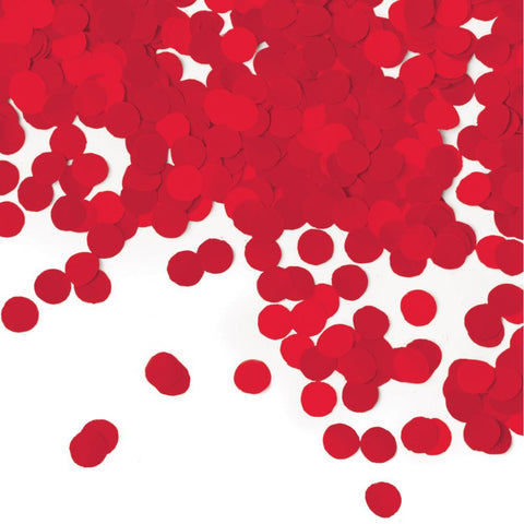 Classic Red Tissue Confetti | 1ct
