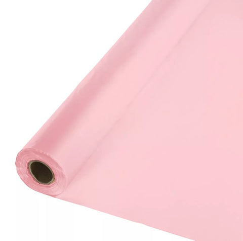 Classic Pink Table Roll | 100ft