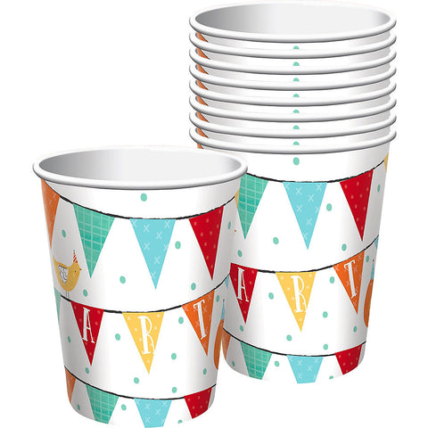 Barnyard Birthday Party Cups 9oz | 8ct