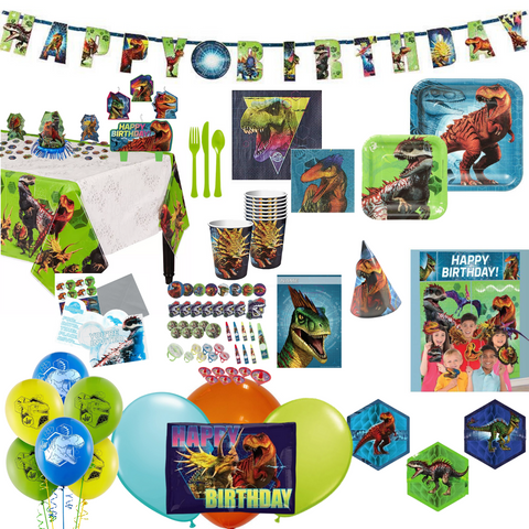 Jurassic World Party Pack Deluxe 16 guests