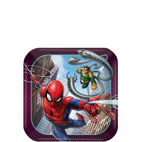 Spider-Man Web Wonder Dessert Plates 7"