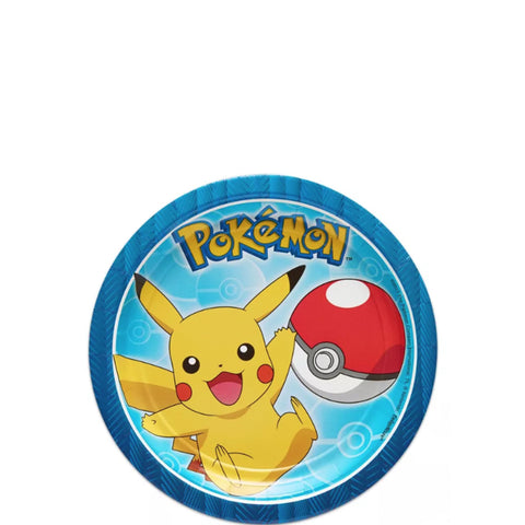 Pokemon Dessert Plates 7"