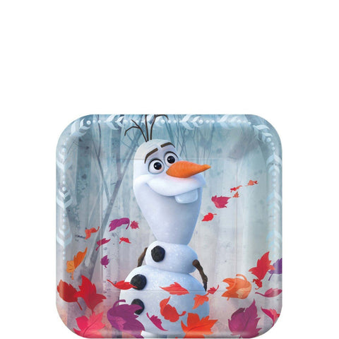 Frozen 2 Party Dessert Plates 7"