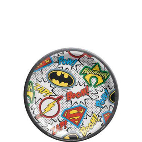 Justice League Dessert Plates | 8ct