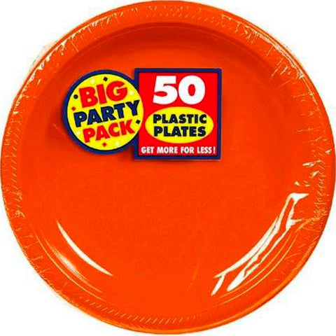 Orange Peel 10.25'' Plastic Plates | 50ct