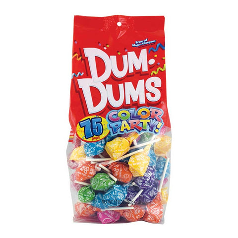 Dum Dums Assorted Flavors | 75ct