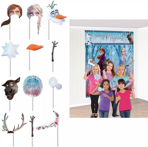 Frozen 2 Scene Setters With Props | 1ct