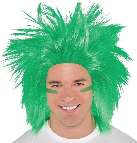 Green Crazy Wig | 1ct