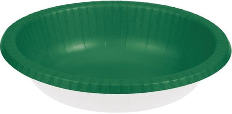Festive Green Paper Bowl | 20ct