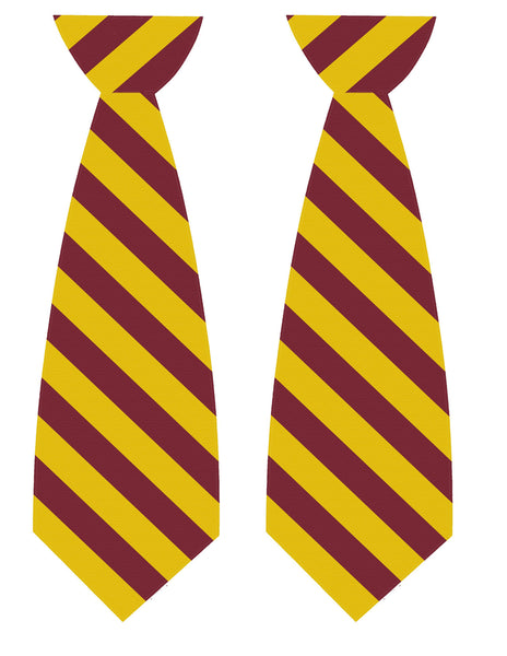 Harry potter tie printables zurchers for Harry potter tie template