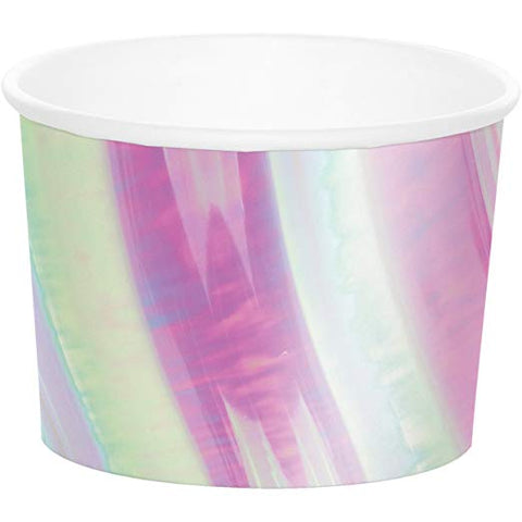 Iridescent Treat Cups 9oz| 6ct