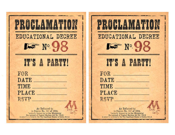 picture about Printable Harry Potter Invitations called Harry Potter Beverage Napkins 5\